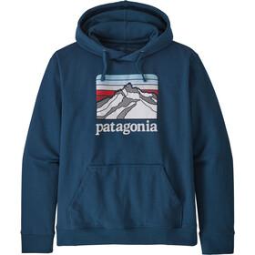 Patagonia Line Logo Ridge Uprisal Hættetrøje Herrer, blå